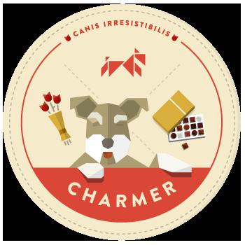 Charmer-badge