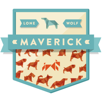 Maverick-badge