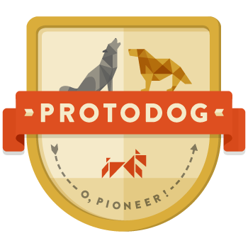 Protodog-badge