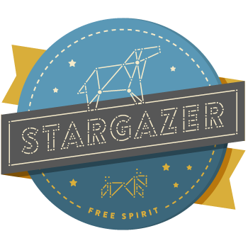 Stargazer-badge