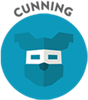 Cunning-badge